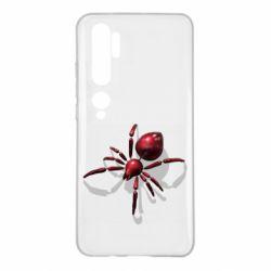 Чохол для Xiaomi Mi Note 10 Red spider