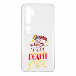 Чехол для Xiaomi Mi Note 10 Remember death is not the end