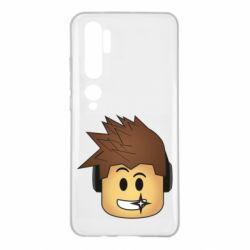 Чехол для Xiaomi Mi Note 10 Roblox head