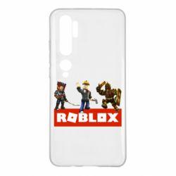 Чехол для Xiaomi Mi Note 10 Roblox Heroes