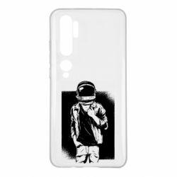 Чехол для Xiaomi Mi Note 10 Рок Космонавт