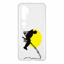 Чехол для Xiaomi Mi Note 10 Рыбак