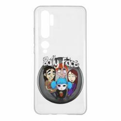 Чехол для Xiaomi Mi Note 10 Sally face soundtrack