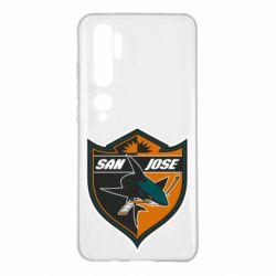 Чохол для Xiaomi Mi Note 10 San Jose Sharks