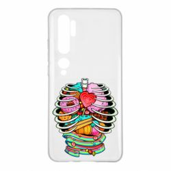 Чехол для Xiaomi Mi Note 10 Сandy inside the skeleton
