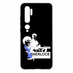 Чехол для Xiaomi Mi Note 10 Sherlock (Шерлок Холмс)