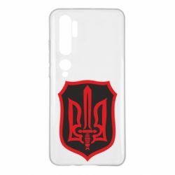 Чехол для Xiaomi Mi Note 10 Shield with the emblem of Ukraine and the sword