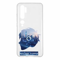 Чохол для Xiaomi Mi Note 10 Silhouette City Detroit: Become Human
