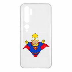 Чехол для Xiaomi Mi Note 10 Simpson superman