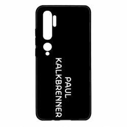 Чехол для Xiaomi Mi Note 10 Singer Paul Kalkbrenner
