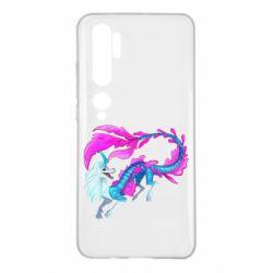 Чохол для Xiaomi Mi Note 10 Sisu Water Dragon