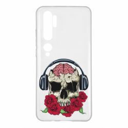 Чохол для Xiaomi Mi Note 10 Skull and roses