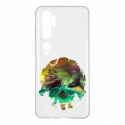Чохол для Xiaomi Mi Note 10 Skull of a sea of thieves