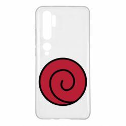Чехол для Xiaomi Mi Note 10 Сlan Uzumaki