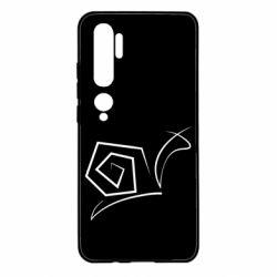 Чехол для Xiaomi Mi Note 10 Snail minimalism