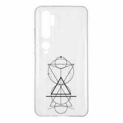 Чохол для Xiaomi Mi Note 10 Сomposition of geometric shapes
