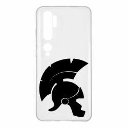Чехол для Xiaomi Mi Note 10 Spartan helmet