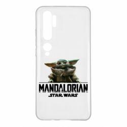 Чехол для Xiaomi Mi Note 10 Star Wars Yoda beby