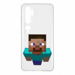 Чехол для Xiaomi Mi Note 10 Steve from Minecraft
