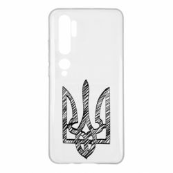 Чехол для Xiaomi Mi Note 10 Striped coat of arms