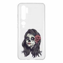 Чехол для Xiaomi Mi Note 10 Sugar girl with a rose