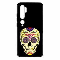 Чехол для Xiaomi Mi Note 10 Sugar Skull Vector