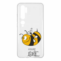 Чехол для Xiaomi Mi Note 10 Сумасшедшая пчелка