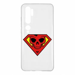 Чехол для Xiaomi Mi Note 10 Superman Skull