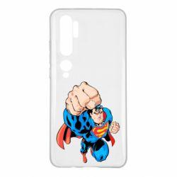 Чохол для Xiaomi Mi Note 10 Супермен Комікс