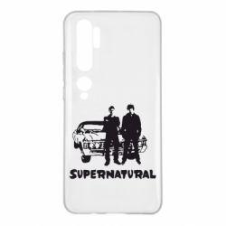 Чехол для Xiaomi Mi Note 10 Supernatural Братья Винчестеры