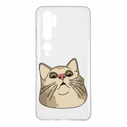 Чехол для Xiaomi Mi Note 10 Surprised cat