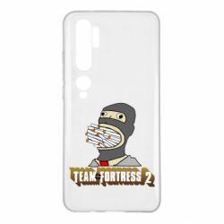 Чехол для Xiaomi Mi Note 10 Team Fortress 2 Art