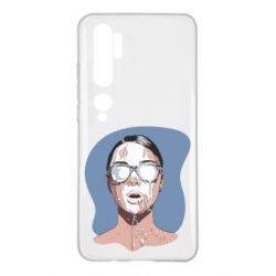 Чехол для Xiaomi Mi Note 10 The girl is doused with milk