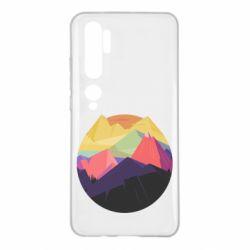 Чехол для Xiaomi Mi Note 10 The mountains Art