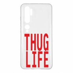 Чехол для Xiaomi Mi Note 10 thug life