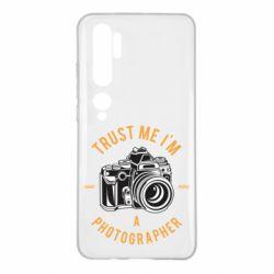 Чохол для Xiaomi Mi Note 10 Trust me i'm photographer