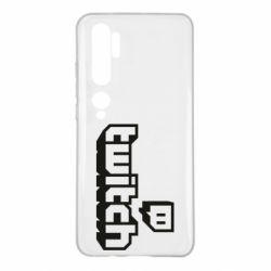 Чохол для Xiaomi Mi Note 10 Twitch logotip