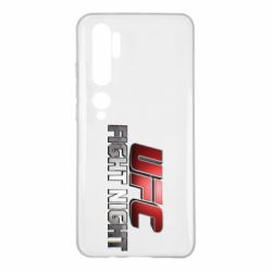 Чохол для Xiaomi Mi Note 10 UFC Fight Night