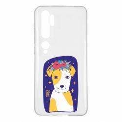 Чехол для Xiaomi Mi Note 10 Украинский пес