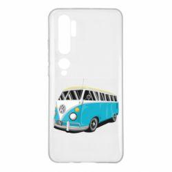 Чехол для Xiaomi Mi Note 10 Vector Volkswagen Bus