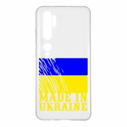 Чохол для Xiaomi Mi Note 10 Виготовлено в Україні
