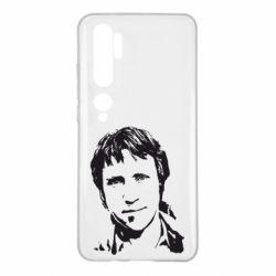 Чехол для Xiaomi Mi Note 10 Владимир Высоцкий портрет