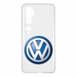 Чохол для Xiaomi Mi Note 10 Volkswagen 3D Logo