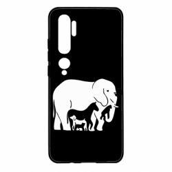 Чехол для Xiaomi Mi Note 10 все в одном