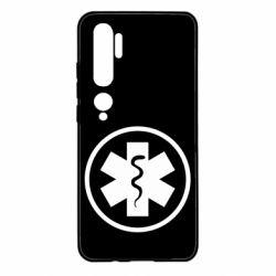 Чехол для Xiaomi Mi Note 10 Warface: medic