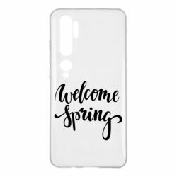 Чохол для Xiaomi Mi Note 10 Welcome spring