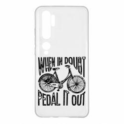 Чохол для Xiaomi Mi Note 10 When in doubt pedal it out
