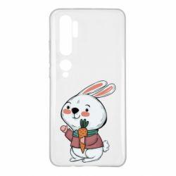 Чехол для Xiaomi Mi Note 10 Winter bunny