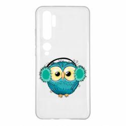 Чехол для Xiaomi Mi Note 10 Winter owl