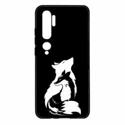 Чехол для Xiaomi Mi Note 10 Wolf And Fox